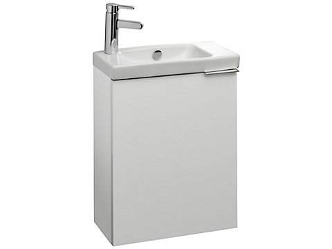 Meuble sous lave-mains compact 50 cm