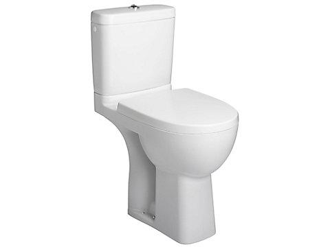 Pack WC surélevé PMR, sortie horizontale