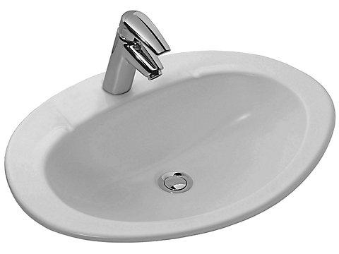 Vasque à encastrer par-dessus 63 cm