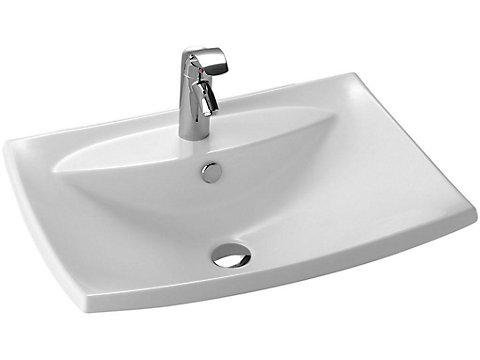 Vasque à encastrer par-dessus 60 cm