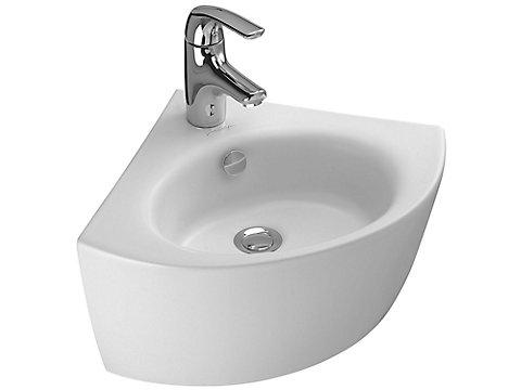 Lave-mains d'angle 36,5 cm