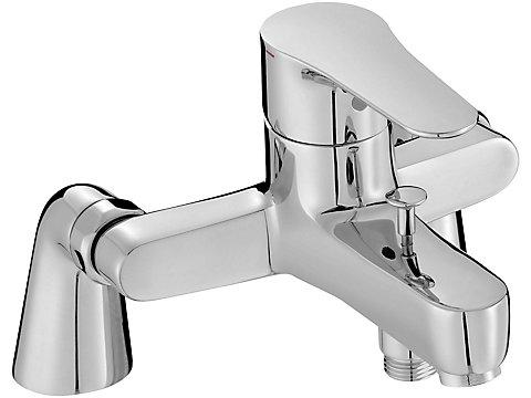 Mitigeur bain-douche sur gorge