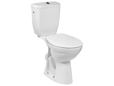 Pack WC surélevé, sortie horizontale