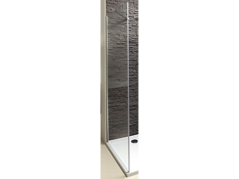 Paroi latérale fixe pour porte pivotante 100 cm