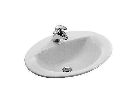 Vasque à encastrer par-dessus 56 cm