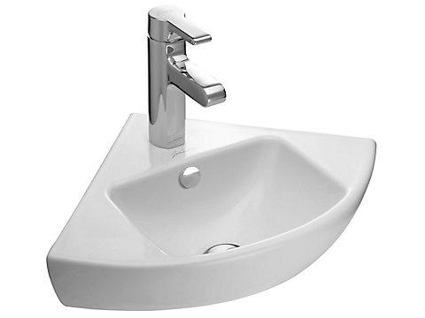 Lave-mains d'angle 34 cm