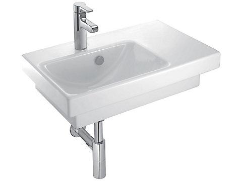 Plan-vasque 65 cm, à gauche