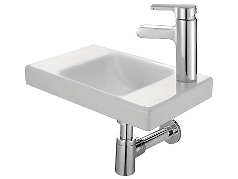Lave-mains 40 cm, sans trop-plein