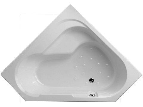 Baignoire bain-douche, version droite