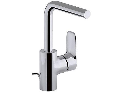 Mitigeur lavabo, bec tube - avec système d'installation breveté 5|35''