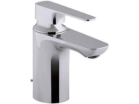 Mitigeur lavabo avec flexibles d'alimentation tournants
