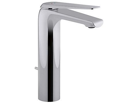 Mitigeur lavabo - modèle haut - avec flexibles d'alimentation
