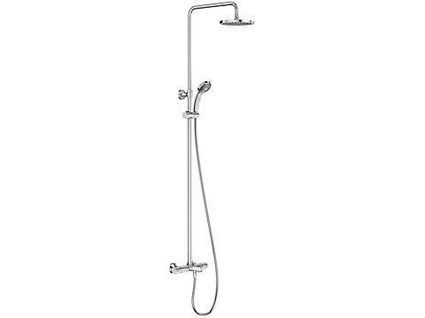 Colonne bain-douche thermostatique