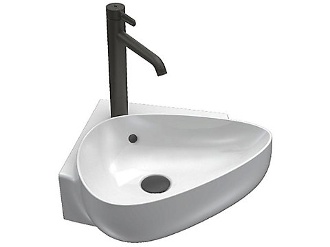 Lave-mains d'angle 45 cm
