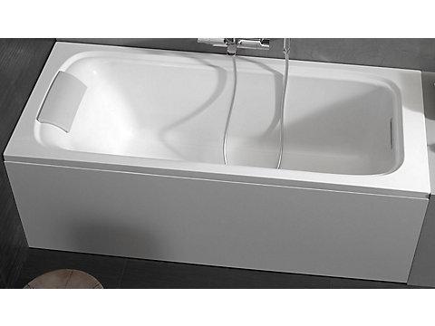 Tablier frontal en aluminium blanc 180 cm