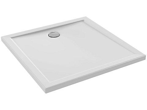 Receveur extra plat à poser ou à encastrer 90x90 cm