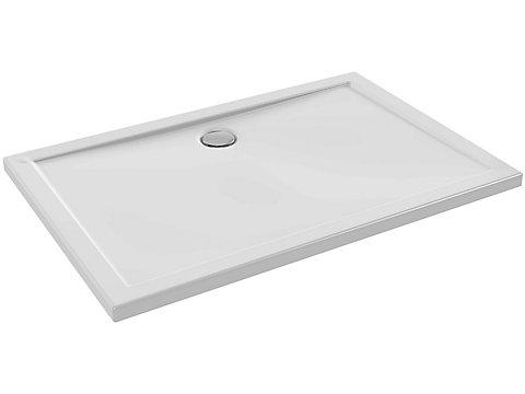 Receveur extra plat à poser ou à encastrer 120x80 cm