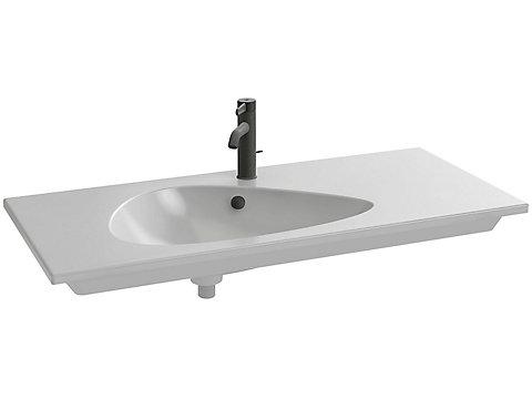 Plan-vasque 101 cm non meulé