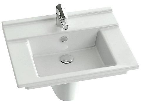Plan-vasque 60 cm
