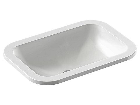 Vasque à encastrer par-dessus Ø 43 cm