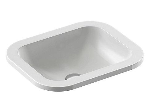 Vasque à encastrer par-dessus 44 cm