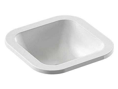 Vasque à encastrer par-dessus 39 cm