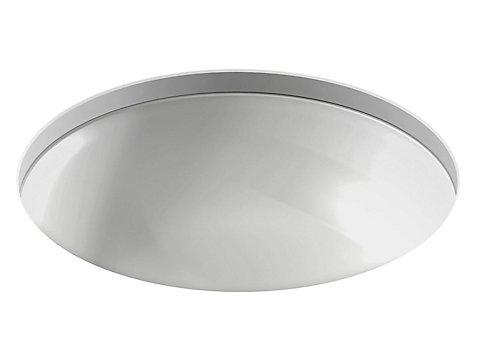 Vasque à encastrer par-dessous Ø 48 cm