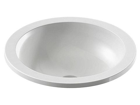 Vasque à encastrer par-dessus 48 cm
