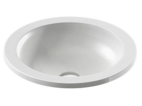 Vasque à encastrer par-dessus 43 cm