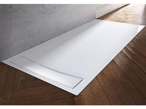 Receveur rectangulaire 140 x 80 cm