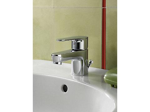Mitigeur lavabo avec flexibles d'alimentation PEX
