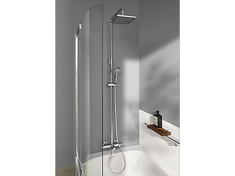 Colonne bain-douche thermostatique