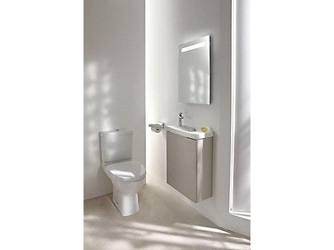 Pack WC, sortie horizontale