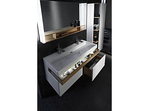 Meuble sous plan-vasque Premium 120 cm