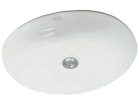 Vasque à encastrer par-dessous 49 cm