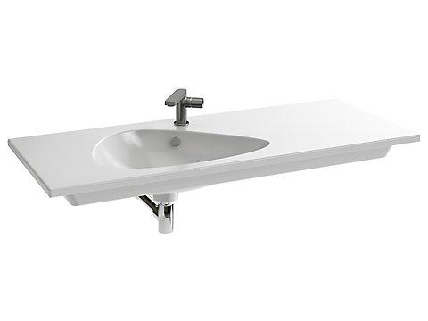 Plan-vasque 121 cm meulé