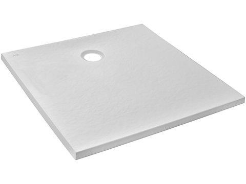 Receveur 90 x 90 cm - pierre blanc