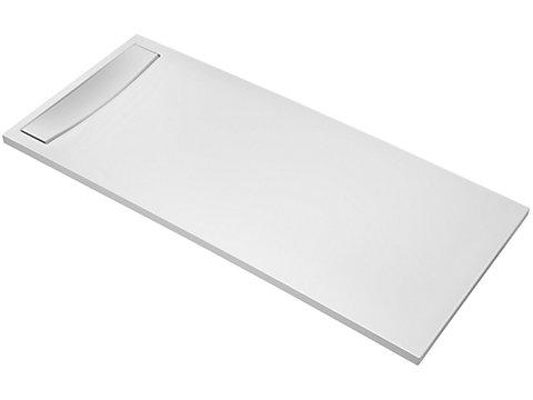 Receveur rectangulaire 100 x 80 cm