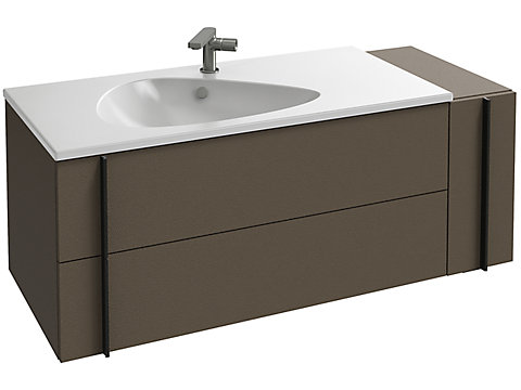 Meuble sous plan-vasque 120 cm - 3 tiroirs