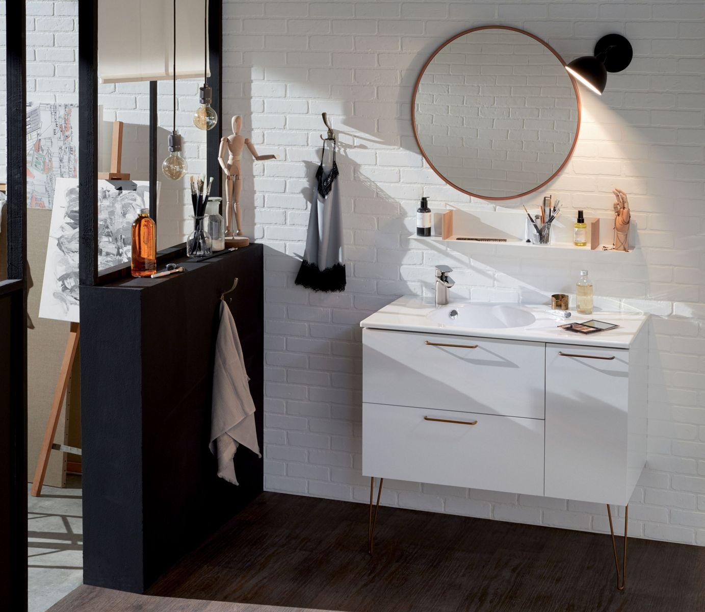 Que mettre sur les murs de la salle de bains ?