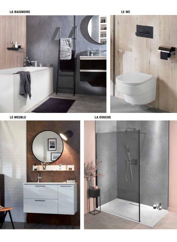 Avec Panolux, habillez toute votre salle de bains