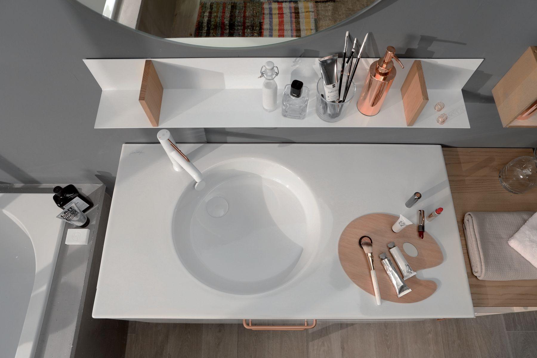 Le confort d'usage des plans-vasques