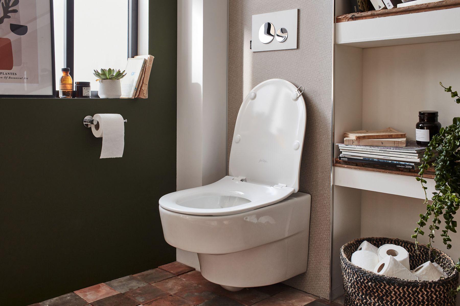 Quelles couleurs pour mes toilettes ?