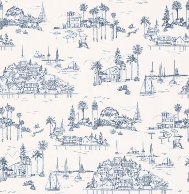 Seahaven Linen - French Blue