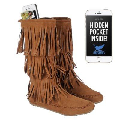 Women's Fringe Pocket Boot Cherokee-03