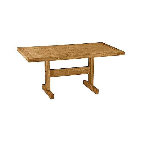 Medium Solid Wood Dining Table