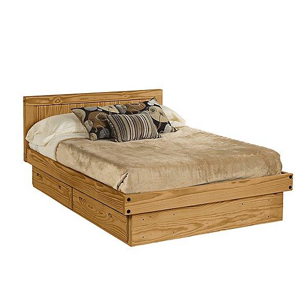 Platform Bed w/Storage - Full