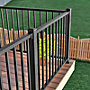 "Picture of Trex® Signature Square Deck Baluster in 42"" Railing"