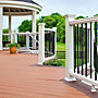 "Picture of Round Aluminum Baluster - 42"" Rail Height"