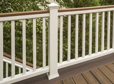 Trex Decking Colors >> Deck Railing Systems | Composite Outdoor Deck Railing | Trex